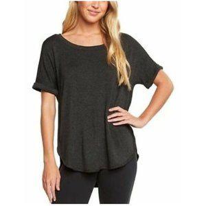 Matty M Ladies' Short Sleeve Comfy Shirt Charcoal